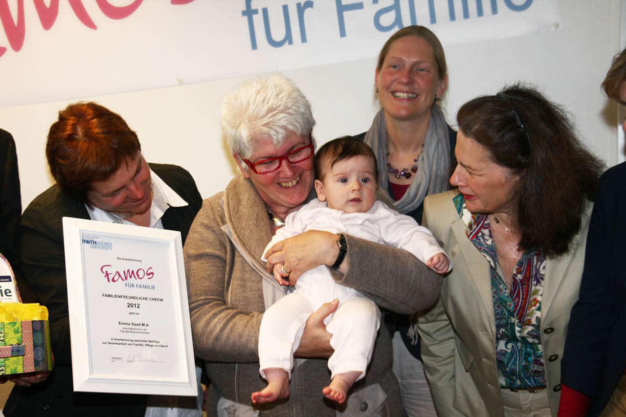 Award Ceremony for FAMOS für Familie